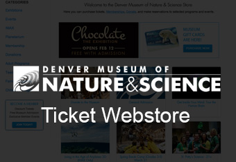 Image for link Denver Museum of Nature and Science Webstore